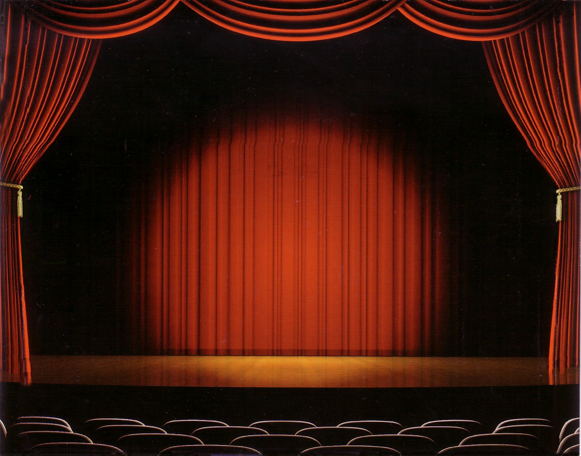 Theatre curtains png - Drama